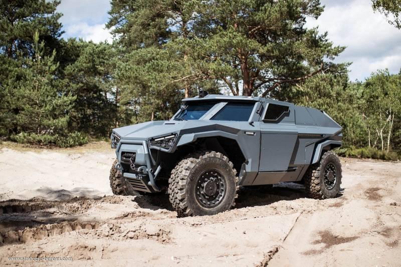 Бронеавтомобиль Arquus Scarabee. Выглядит и движется как краб оружие
