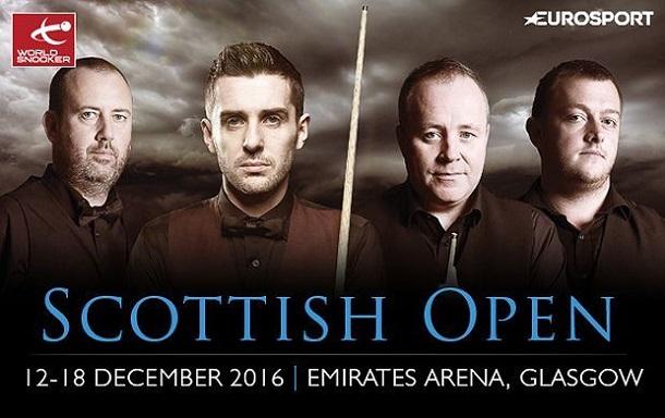 Scottish Open 2016. 1/8 финала