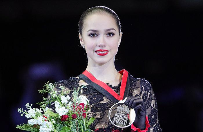 Алина Загитова завоевала серебро в финале Гран-при в Ванкувере