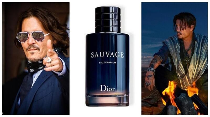 Поклонники Джонни Деппа скупают парфюм Dior вподдержку актера жизнь,история,курьезы,приколы,факты