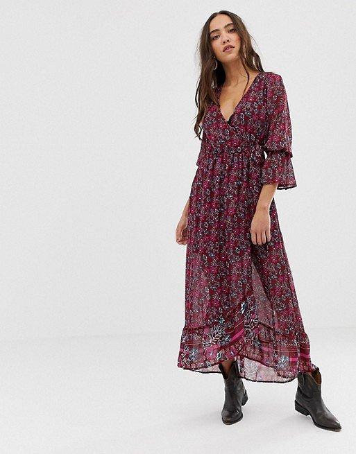Платья с цветочным принтом - наш ответ серым осенним будням фото №18