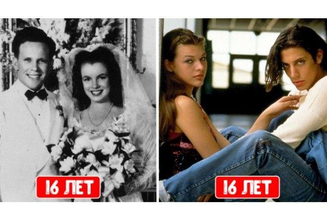 Звездные девушки, выскочившие замуж в подростковом возрасте