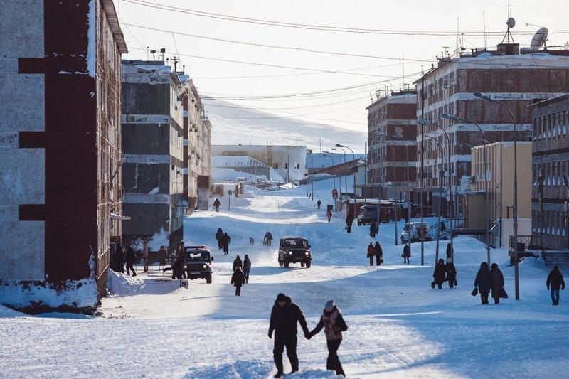 Фоторепортаж о жизни одного из самых северных городов России — Тикси