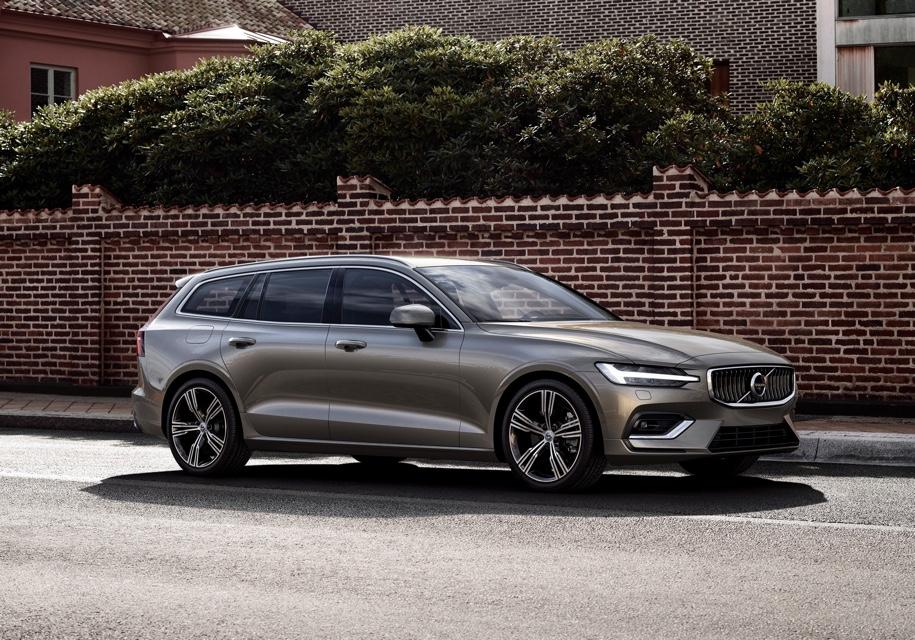 Новый универсал Volvo V60 ст…
