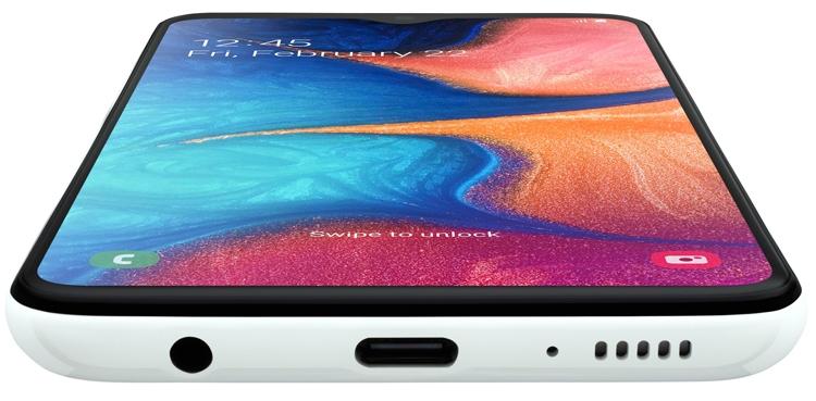 """Смартфон Samsung Galaxy A20e получил 5,8"""" дисплей Infinity V новости,смартфон,статья"""