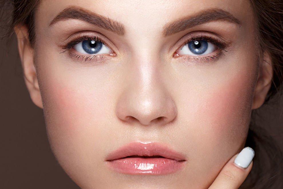 картинки макияжа повседневный