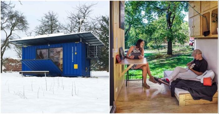 Чехи разработали автономный контейнерный дом, площадь которого всего 14,5 кв. метров
