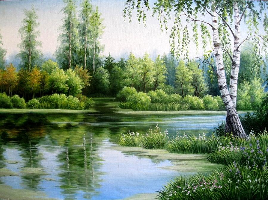 Пейзажи Алёны Ивановой