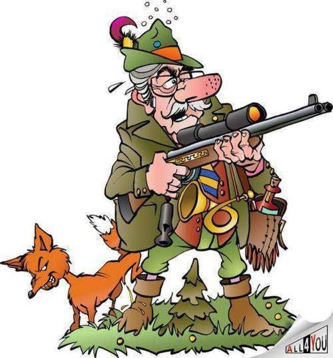 С юмором у немцев совсем плохо животные, медведь, немцы, охотники-любители, прикол, юмор