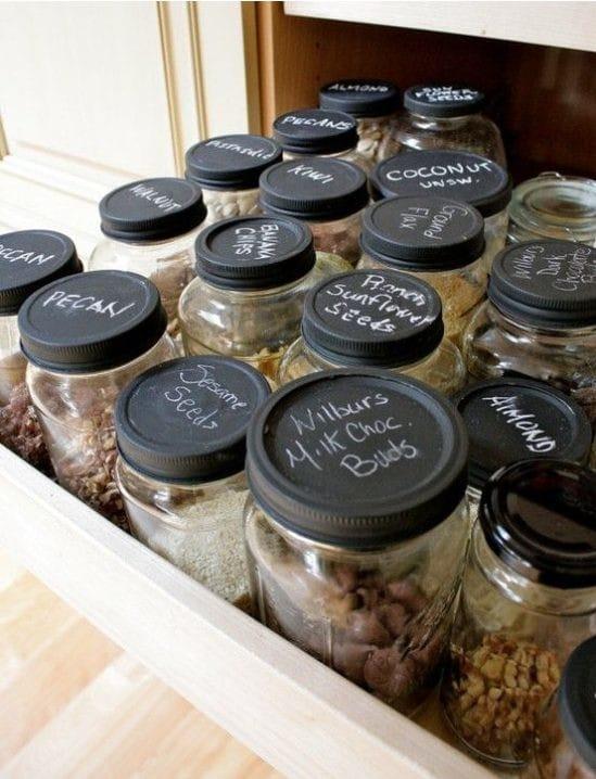 Баночки для хранения специй и сыпучих продуктов