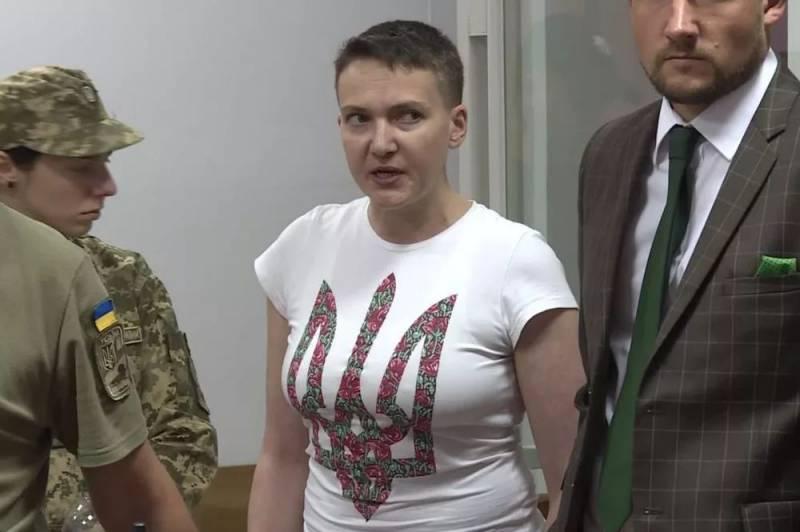 Надежда Савченко обратилась …