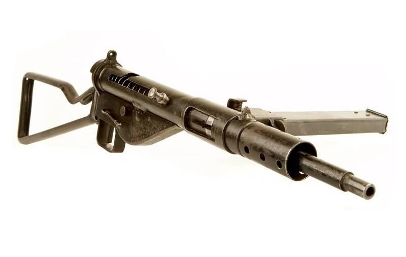 Автоматическое оружие для фольксштурма. Sten для бедных оружие