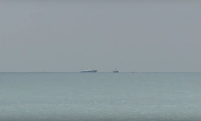Зона поисков человеческих тел и фрагментов разбившегося в Черном море Ту-154 попала на видео