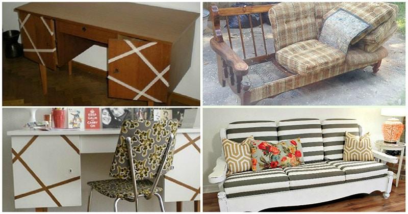 Превращение старой мебели в дизайнерскую: примеры, достойные внимания