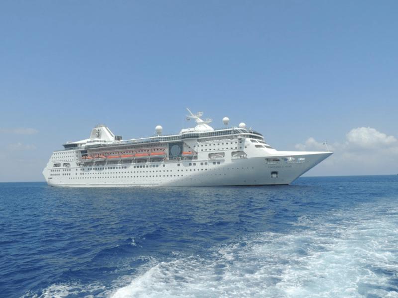 Лайнер Empress of the Seas история, лайнер, море, рыбака, спасение, чудо