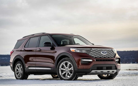 Новый Ford Explorer: он стал легче и мощнее