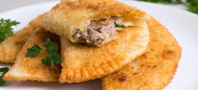 Домашние чебуреки - лучшие рецепты теста и начинок для идеального блюда еда,пища,рецепты, выпечка