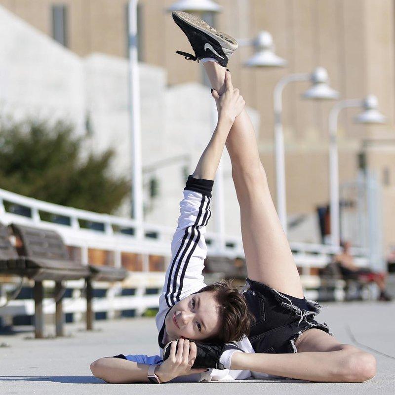 Мария Пуччарелли — супергибкая конторсионистка из США Мария Пуччарелли, гибкость, конторсионистка, красота, люди, тело