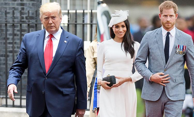 Дональд Трамп прокомментировал скандал с Меган Маркл и рассказал об отношении к нему принца Гарри Монархи,Британские монархи