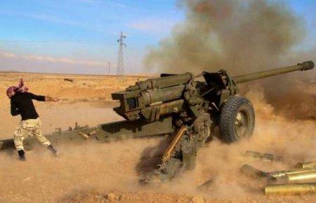 Сирийские партизаны атаковал…