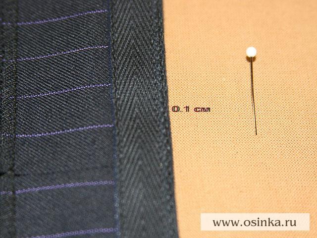 Секрет правильной подшивки брюк подшив брюк