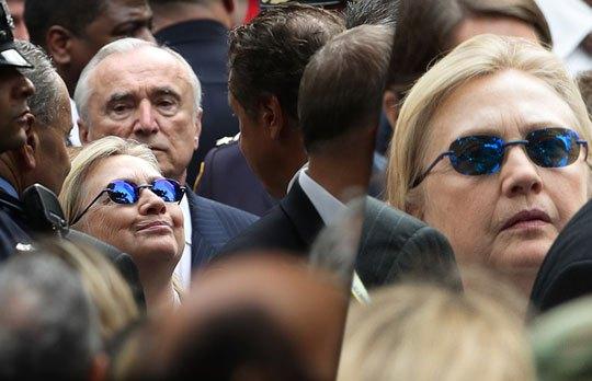Есть ли у Хилари Клинтон двойник, ваше мнение?