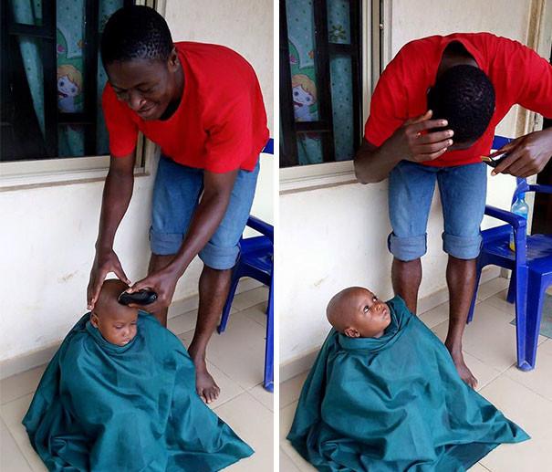 Первая стрижка дети, доброта спасет мир