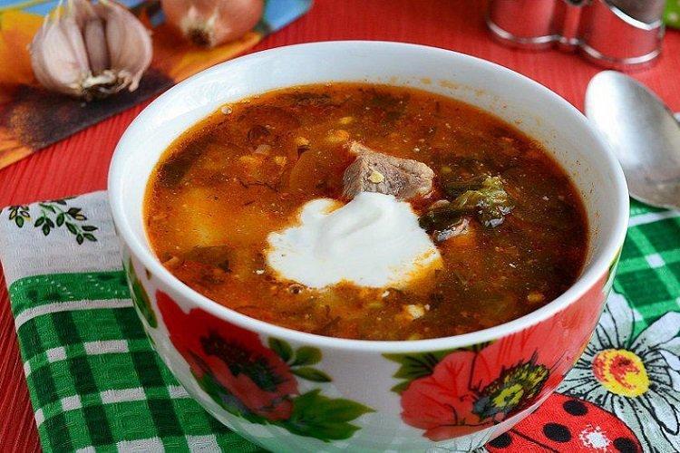 15 зеленых борщей с щавелем, которые ты точно захочешь съесть первые блюда,супы