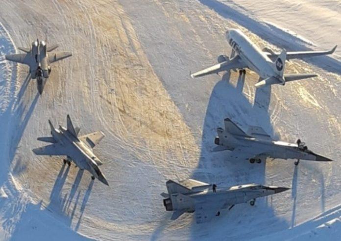 Герой, который в 2018 году  спас сразу  4 самолета  МИГ-31