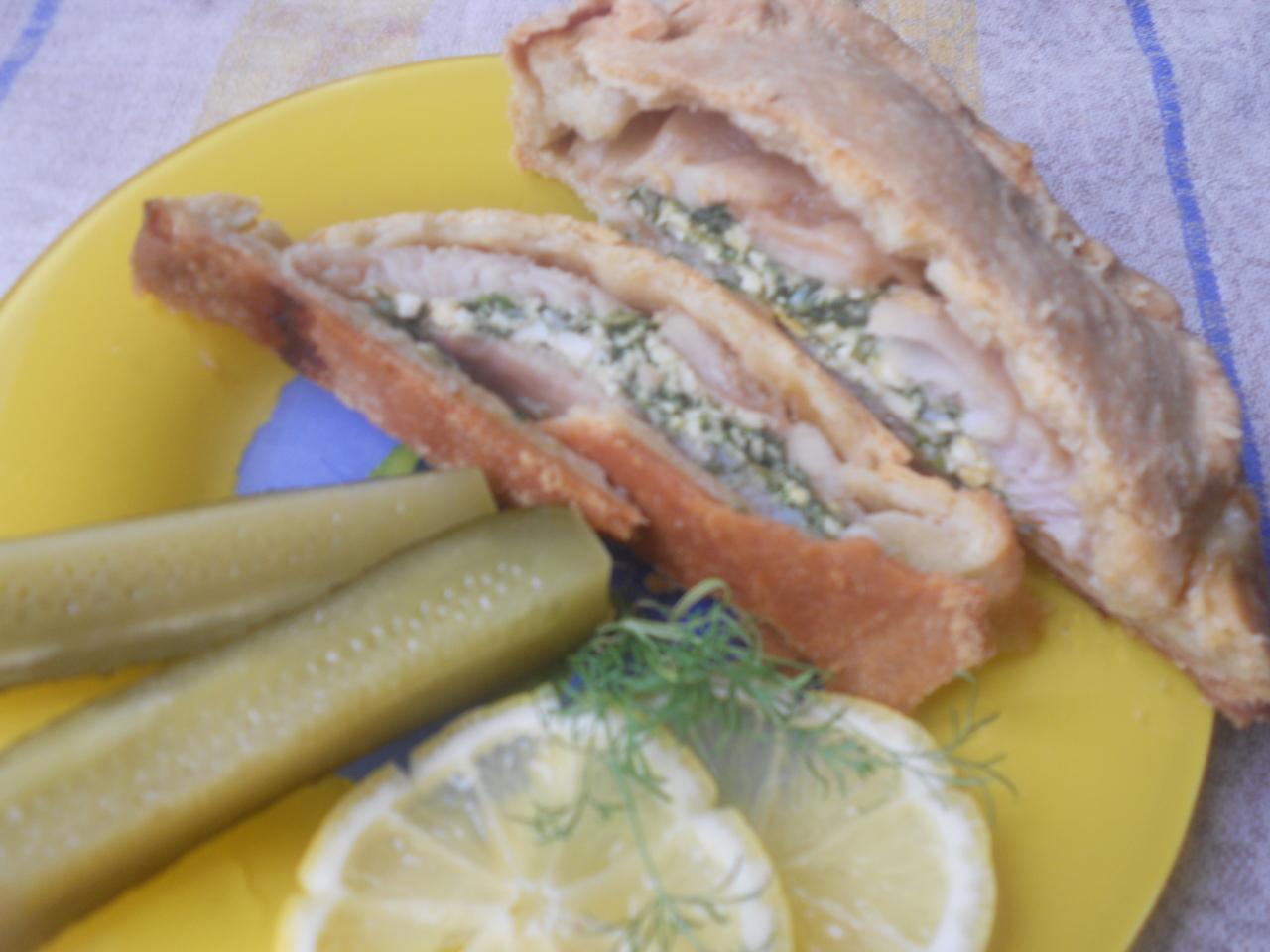 Пирог с рыбой