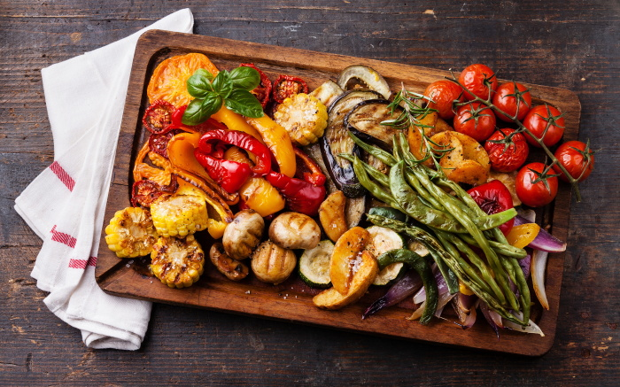 Сохраняем сочность в запечённых овощах.  Фото: 1zoom.me.