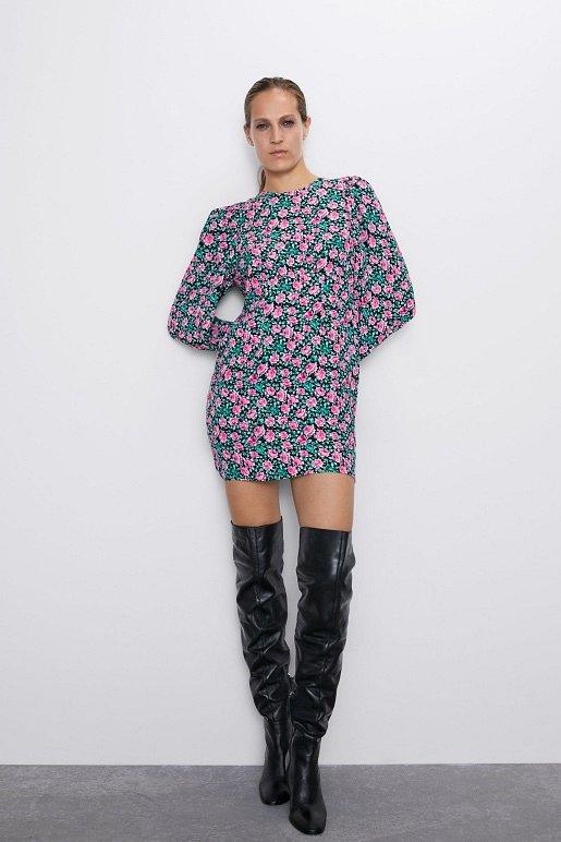 Платья с цветочным принтом - наш ответ серым осенним будням фото №21