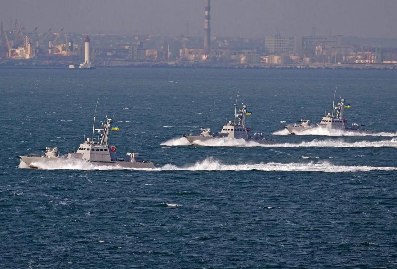 Новые катера ВМС Украины, за…