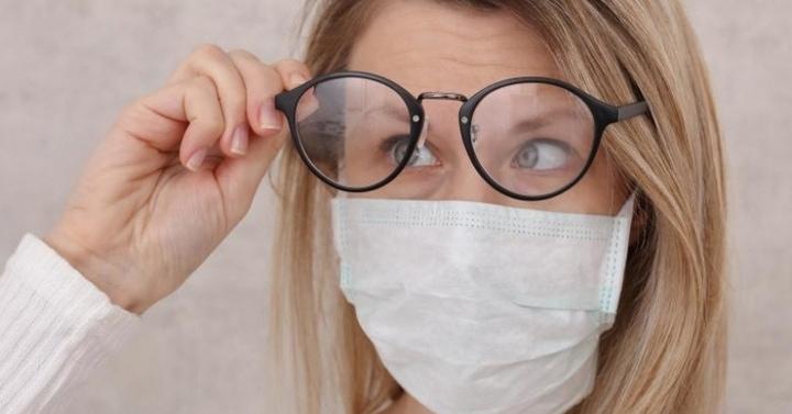 Очки запотевать не будут! Новая модель комфортной защитной маски маска,мастер-класс