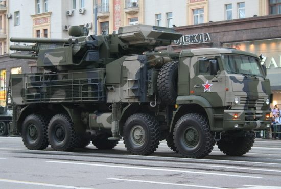 СМИ: российские «Панцири» отразили ракетную атаку на авиабазу «Хмеймим»