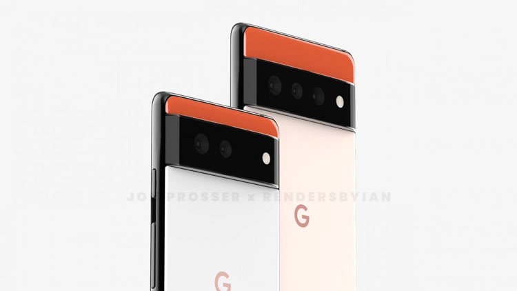 Google Pixel 6 и Pixel 6 Pro появились на фото с шокирующим дизайном