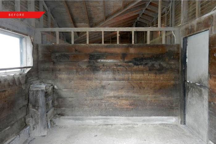 До и после: Как старая конюшня превратилась в современный дом