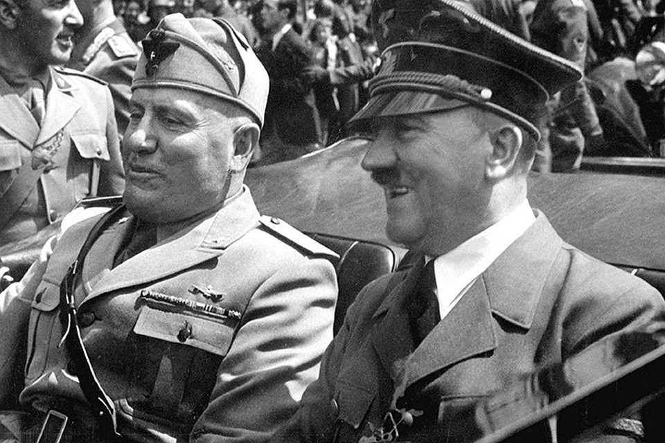 Они сражались за Гитлера. И эти страны сейчас объявляют нам санкции?