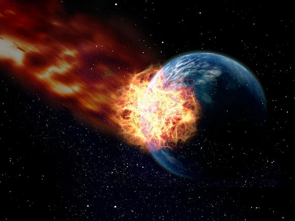 К Земле летит огромный астероид. Названа новая дата конца света