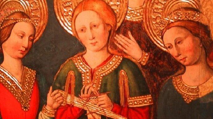 Рукоделие из глубины веков, сколько лет вязаному носку и что вязала Дева Мария