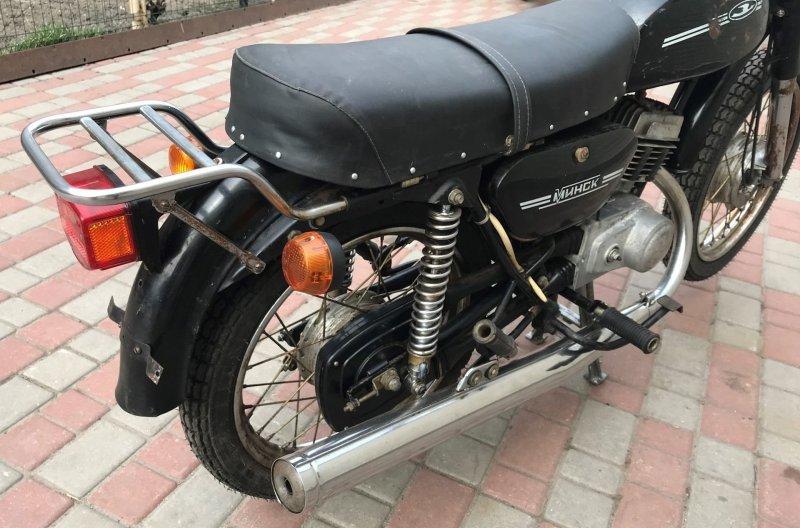 "Капсула времени: Мотоцикл ""Минск"" 1992 года мото"