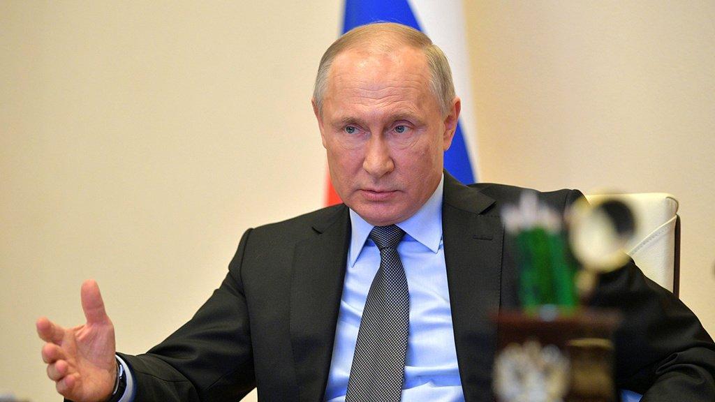 Кремль: Путин не может обсуждать с Зеленским конфликт в Донбассе