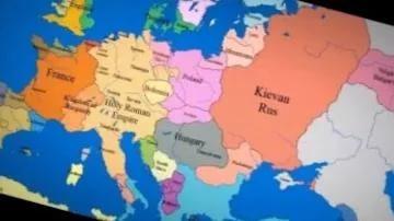 1 000 лет за 3 минуты — как менялись границы государств на карте Европе