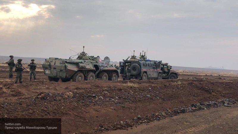 ВКС РФ с воздуха поддерживают патрули военной полиции в Сирии