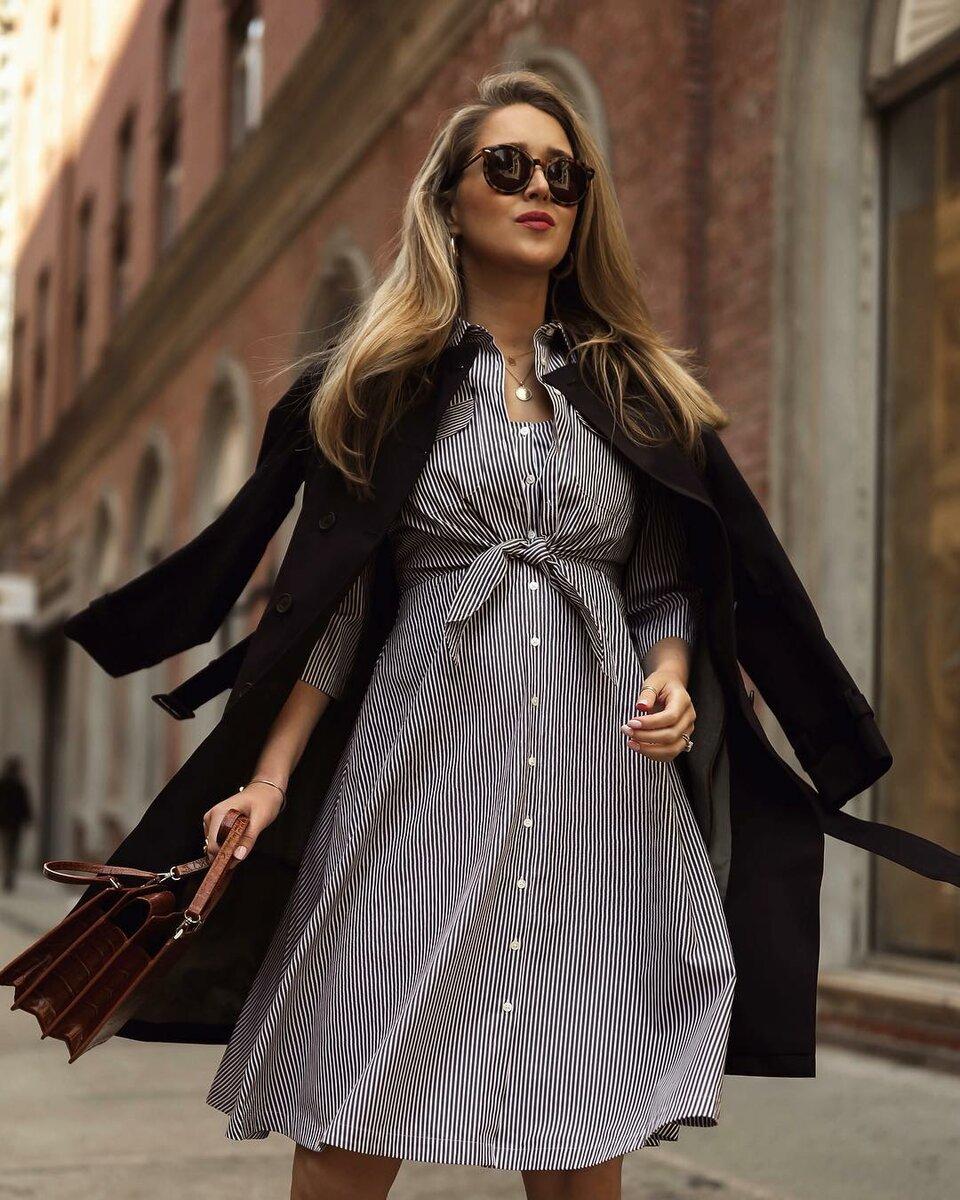 Платье на пуговицах: 20 популярных идей, от которых вы будете в восторге