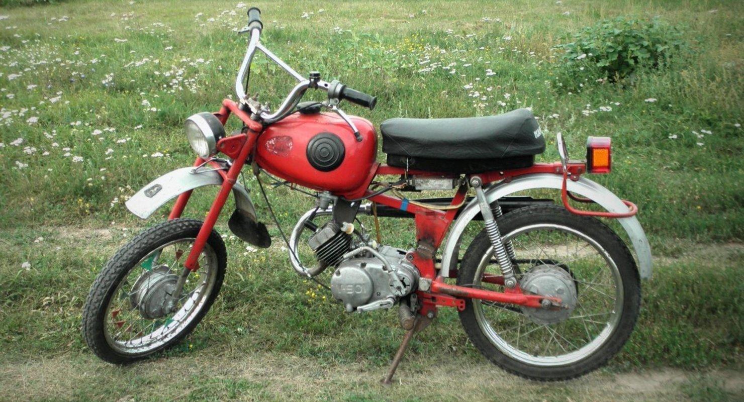 Карпаты — самый популярный мопед в СССР Мото