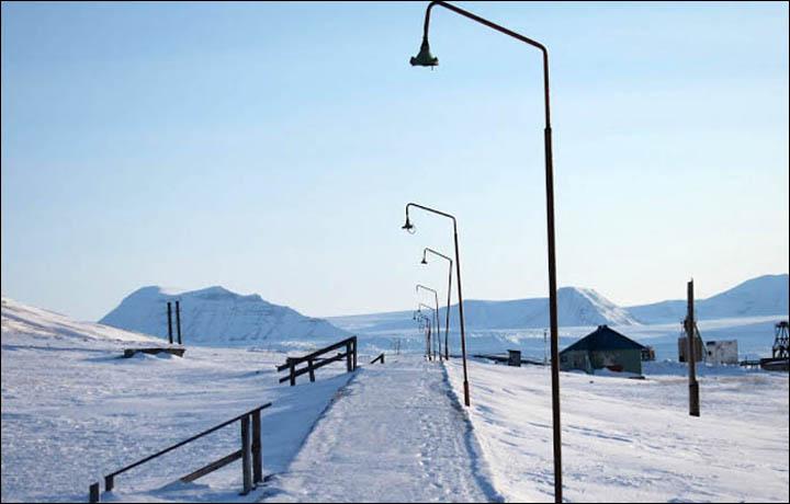Заброшенный советский город …