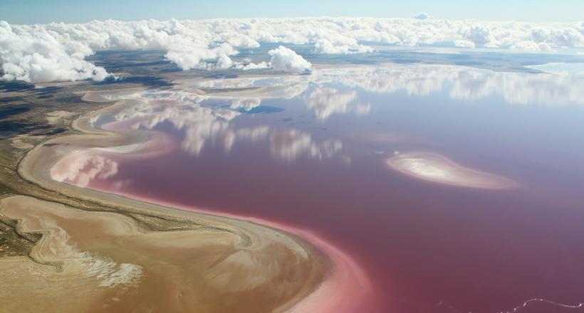 Красота исчезающего озера Эй…