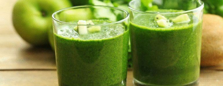 2 зеленых сока очищают организм, сжигают накопленный жир и устраняют отёки