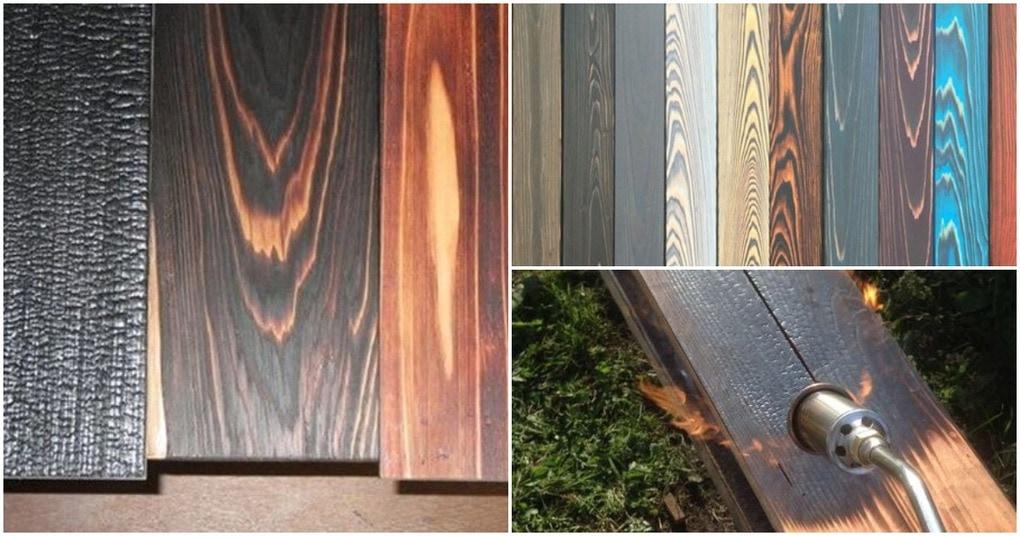 Необычная техника: японский метод обработки древесины